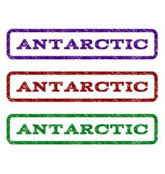 Antarctic watermark stamp vector