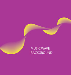 audio wave logo on background abstract background vector image