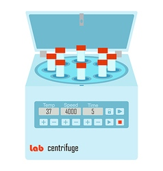 lab centrifuge vector image