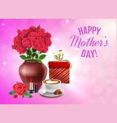 mothers day composition vector image