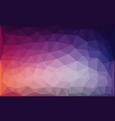 Purple blue lowpoly abstract background vector