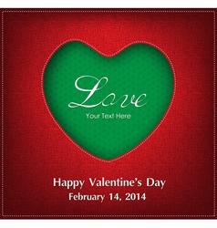 Valentine Day Card Background vector