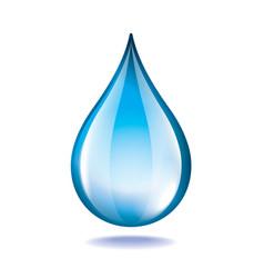 object water drop vector image vector image
