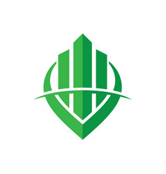 building construction design logo image vector image vector image