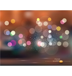 abstract backgroundHoliday evening city vector image