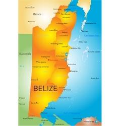 Belize vector image