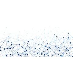 Communication social banner vector image