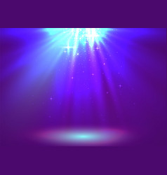 Abstract magic light background purple holiday vector