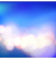 Bokeh and lens flare vector