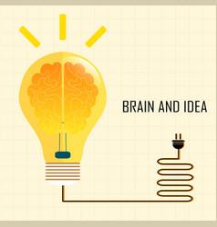 Brain and idea vector