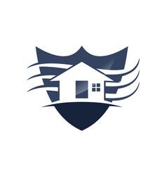 Home shield vector