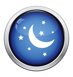 Night icon vector