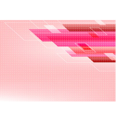pink tone abstract square technology star vector image
