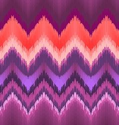 Seamless ikat wallpaper vector image