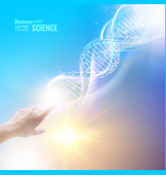 the science concept vector image vector image