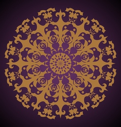 Gothic Rosette vector image vector image