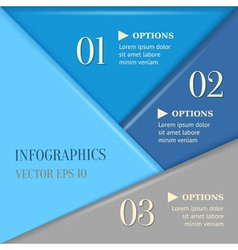 Overlapping progress background vector