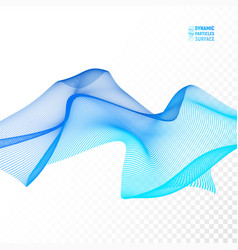 Wave background ripple grid abstract vector