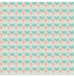 Abstract love seamless pattern vector image