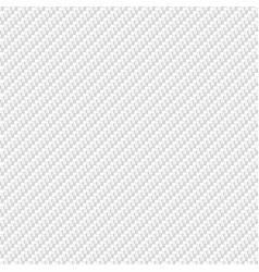 Abstract white carbon fiber material texture vector