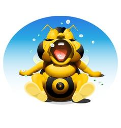 Baby bee 1 vector
