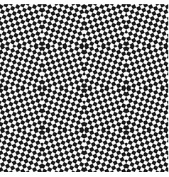checkered seamless pattern optical art texture vector image