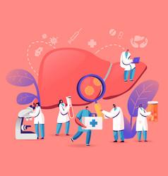 Medical diagnosis hepatitis a b c d world day vector