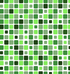 Mosaic with square green background vector