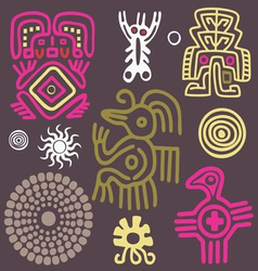 american indian ornament vector image vector image