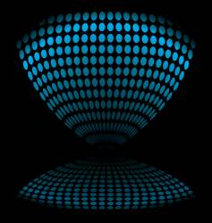 egg timer distort vector image vector image