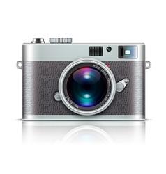 retro style camera vector image vector image