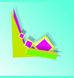abstract universal advertising banner with vector image
