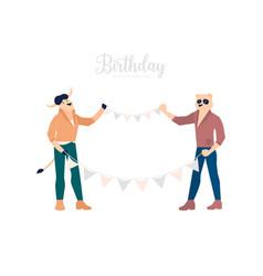 B-day celebration vector