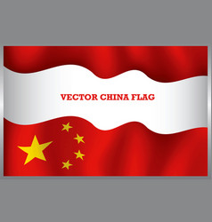 Background china flag vector