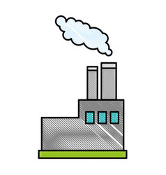 Factory icon image vector