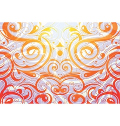 flourish background vector image