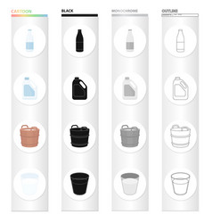 food drink product and other web icon in cartoon vector image