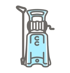 icon of pressure washer vector image