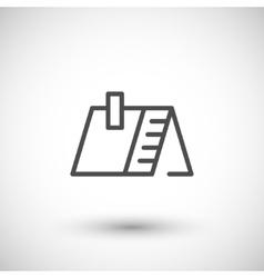 Roline icon vector