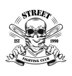 Street fight member vector