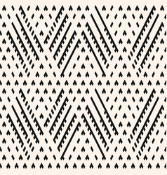 Tribal seamless pattern ornamental background vector
