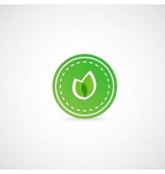 Green leaves vector