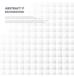 abstract of grey and white square pattern vector image