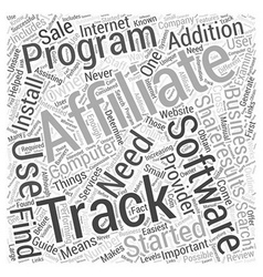 Affiliate Tracking Software Review ShareResults vector