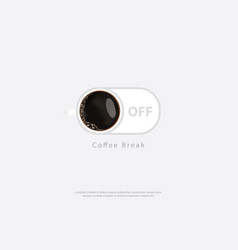 Coffee poster advertisement flayers vector