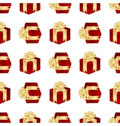 gifts seamless isolated vector image