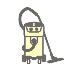 icon vacuum cleaner vector image