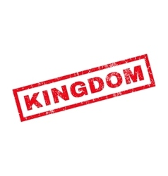 Kingdom Rubber Stamp vector image