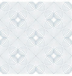 seamless modern pattern in vintage art deco style vector image