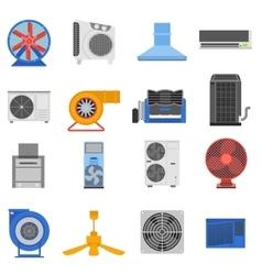 Ventilation vector image